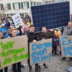 Fabian am Klimastreik